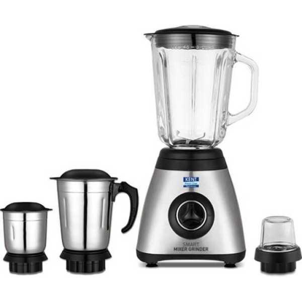Kent 16073 800W Smart Mixer Grinder (4 Jars)