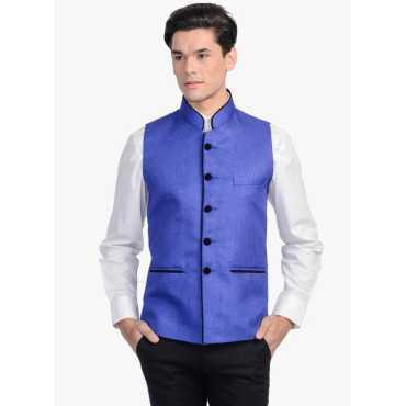Solid Men's Waistcoat