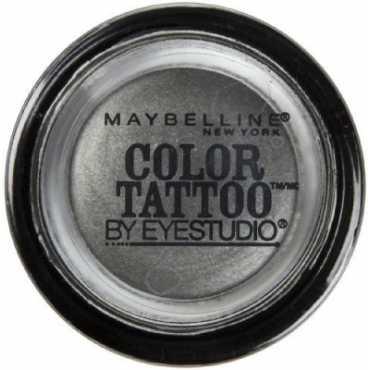 Maybelline 24 Hour Eye Shadow (Audacious Asphalt) (Set of 2)
