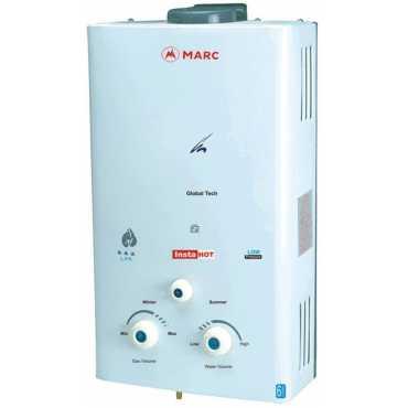 Marc Insta Hot 6 Litres Gas Storage Water Geyser - White