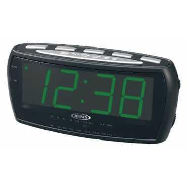 Jensen JCR-208 Alarm Clock AM/FM Radio - Green