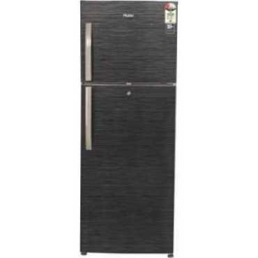 Haier HRF-3304BKS-E 310 L 2 Star Frost Free Double Door Refrigerator