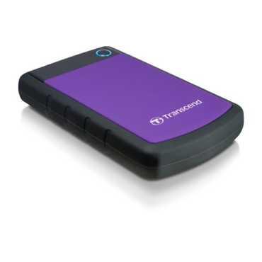 Transcend StoreJet 25H3P USB 3.0 2TB External Hard Disk - Purple | Blue