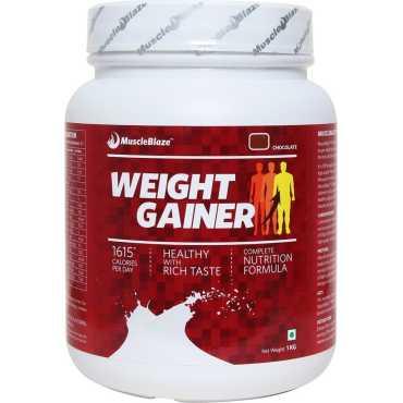 MuscleBlaze Weight Gainer (1kg, Chocolate) - Brown