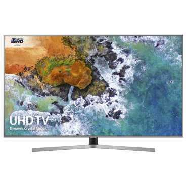 Samsung (UE43NU7470UXXU) 43 Inch 4K Ultra HD Smart LED TV - Silver   Black