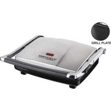 Sheffield Classic SH-6006 4 slice Grill Sandwich Toaster - Black