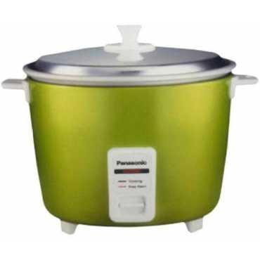 Panasonic SR-3NA 0.5L Electric Cooker - Silver   Green