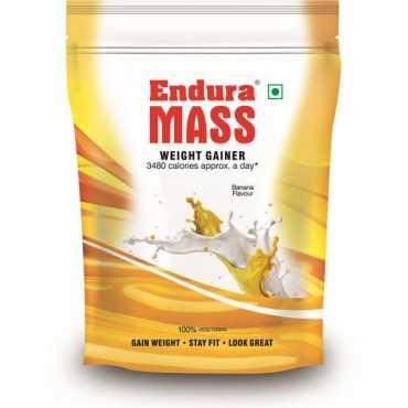 Endura Mass Weight Gainer (400 gm, Banana)
