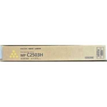 Ricoh MP C2503H Yellow Toner Cartridge