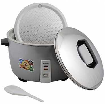 Panasonic SR-942DPMS 10 L Electric Rice Cooker - Silver