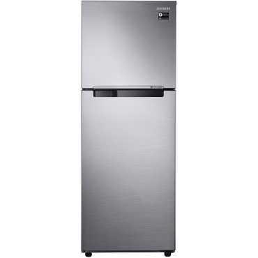 Samsung RT34M3023S8/HL 275L 3S Double Door Refrigerator (Elegant Inox) - Silver