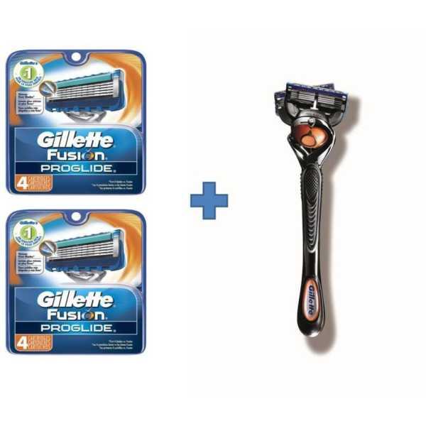 Gillette Fusion Proglide Proglide 4s Cartridge Combo