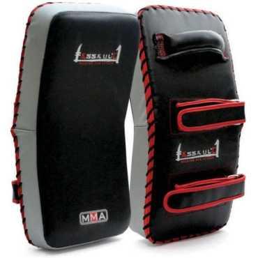 Xpeed MMA Focus Curved Thai Pad - Black | Grey
