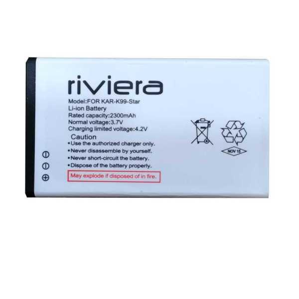 Riviera 2300mAh Battery (For Karbonn K99 Star)