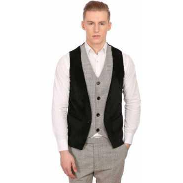 Checkered Men's Waistcoat