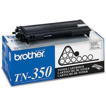 Brother TN 350 Black Toner Cartridge