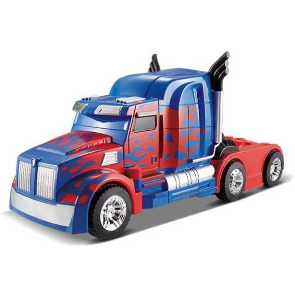 Gift World Transformers 2.4Ghz One-key Transform R/C Optimus Prime Changing Car
