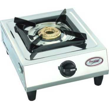 Prestige Prithvi Gas Cooktop (1 Burner) - Steel | Silver
