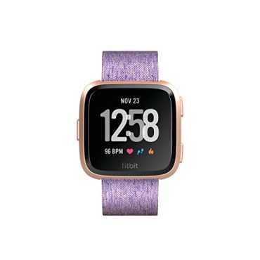 Fitbit Versa Special Edition Smartwatch - Black