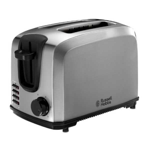 Russell Hobbs 20880 2 Slice Pop-Up-Toaster - Steel