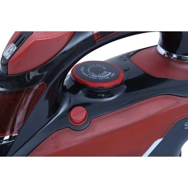 Singer Sapphire 1600W Steam Iron - Red
