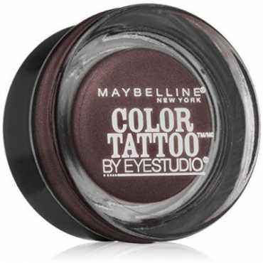 Maybelline Color Tattoo Leather 24 HR Cream Gel Eye Shadow Vintage Plum