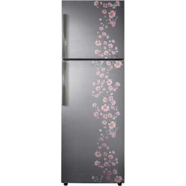 Samsung RT29HAJSAPX/TL 275 Litre 3S Double Door Refrigerator (Orcherry Pebble)  - White