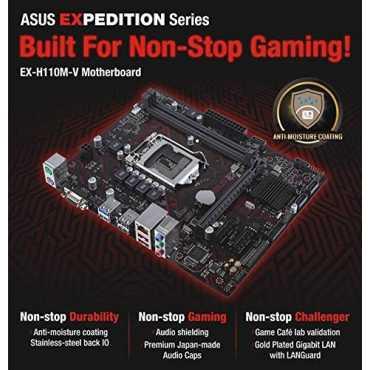 Asus EX-H110M-V Motherboard - Black