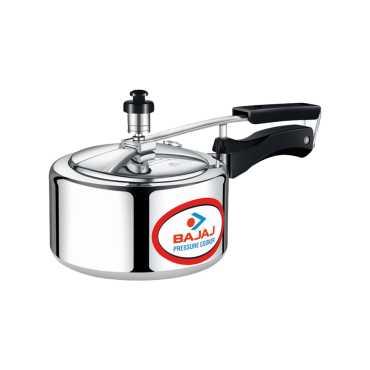 Bajaj PCX 42 Majesty Aluminium 2 L Pressure Cooker (Inner Lid) - Silver