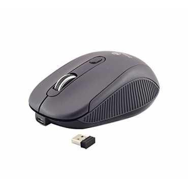 Zebronics Denoise Rechargeable WireLess Mouse - Black