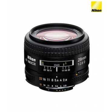Nikon 28mm f/2.8 D AF FX  Lens - Black