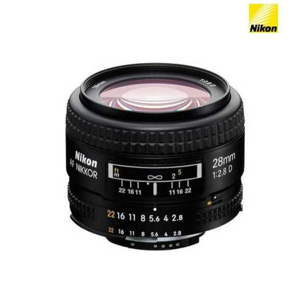 Nikon 28mm f/2.8 D AF FX  Lens