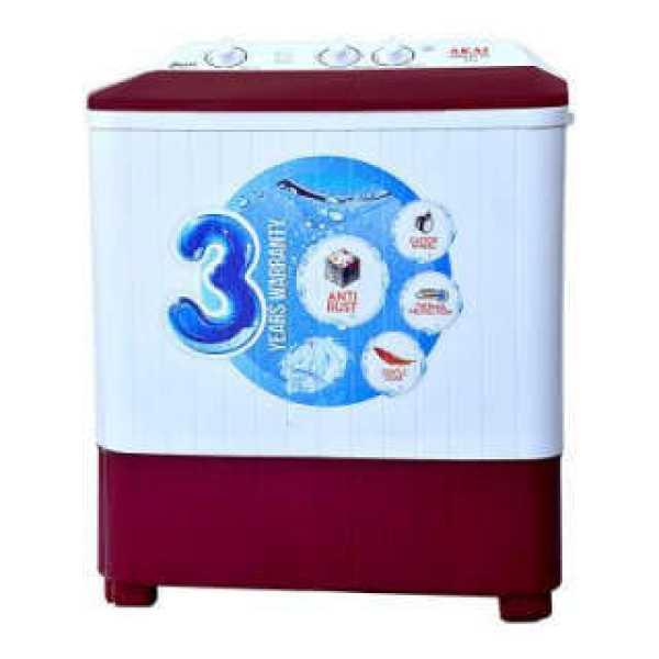 Akai 6.5 Kg Semi Automatic Top Load Washing Machine (AKSW-6511RD)