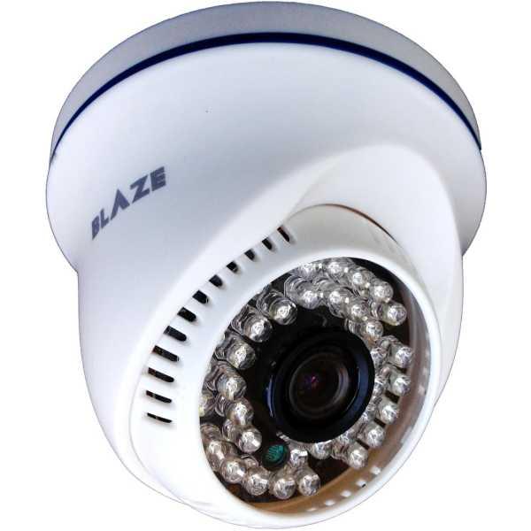 Blaze BG-AD-4N-03-0F 720P AHD Dome CCTV Camera - White