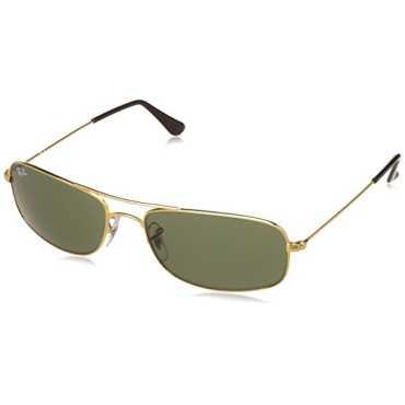 UV protected Oversized Men Sunglasses 0RB3335I00157 57 millimeters Crystal Green
