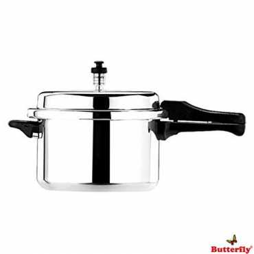 Butterfly Standard Plus Aluminium 7.5 L Pressure Cooker (Outer Lid)