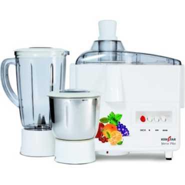 Kenstar Yuva 500W Juicer Mixer Grinder - White