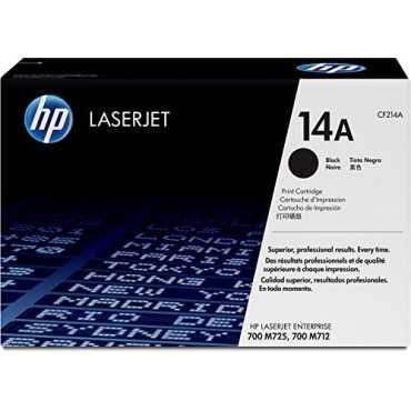 HP 14A Black LaserJet Toner Cartridge - Black
