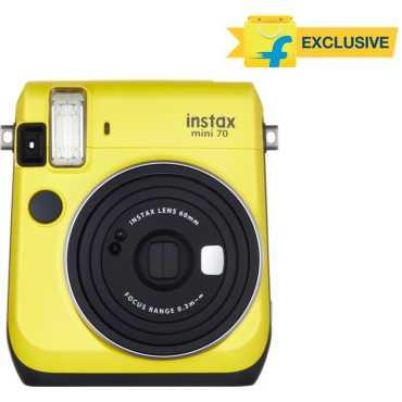 Fujifilm Instax Mini 70 Instant Camera - Yellow | Blue | White