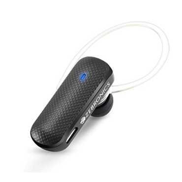 Zebronics BH555 Bluetooth Headset - Black | White