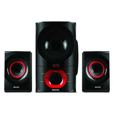 Philips MMS6060F/94 2.1 Channel Multimedia Speakers - Black