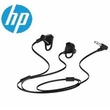 HP X7B04AA Headset - Black