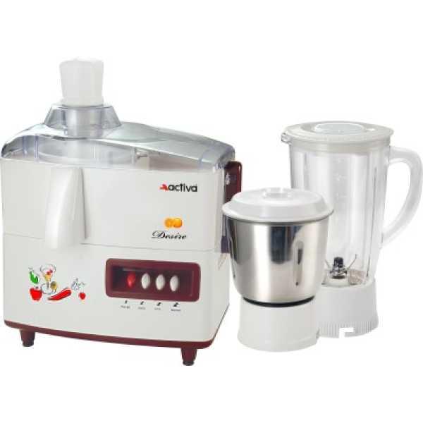 Activa Desire Juicer Mixer Grinder - White