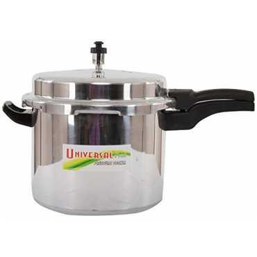 Universal Pride  Aluminum 7.5 L Pressure Cooker (Outer Lid) - Silver