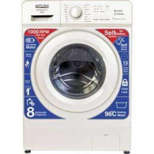 Mitashi 6 Kg Fully Automatic Front Load Washing Machine (WMFA600K100 FL)