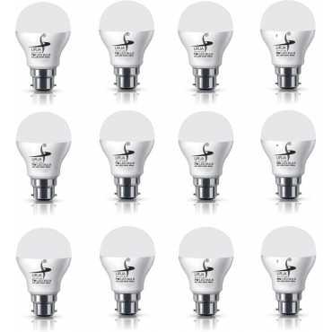 Urja 7W B22 650L LED Bulb White Pack Of 12