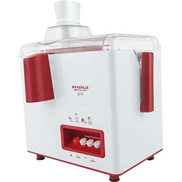 52fb6bca1d9 Maharaja Whiteline Gala 450w Juicer Mixer Grinder (white)