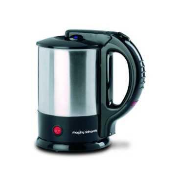 Morphy Richards Tea Maker 1.5 L Electric Kettle - Black | Steel