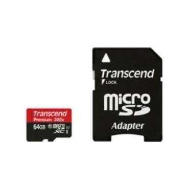 Transcend TS64GUSDU1 64GB Class 10 MicroSDXC Memory Card
