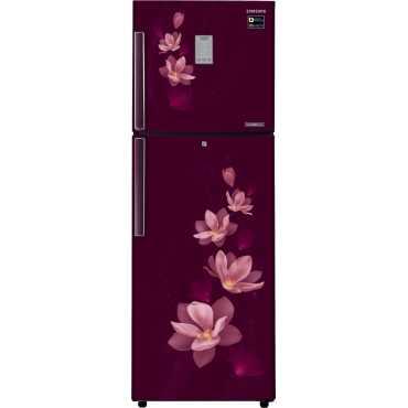 Samsung RT30M3954R7 275L Double Door Refrigerator (Magnolia Plum) - Blue